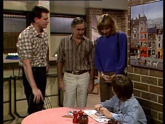 Des Clarke, Jack Lassiter, Andrea Townsend, Bradley Townsend in Neighbours Episode 0281