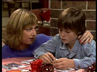 Andrea Townsend, Bradley Townsend in Neighbours Episode 0281