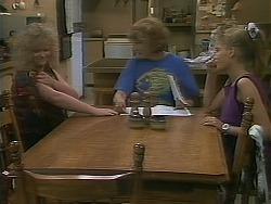 Sharon Davies, Madge Bishop, Bronwyn Davies in Neighbours Episode 1114