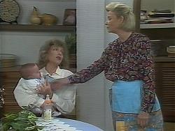 Baby Rhys, Beverly Marshall, Helen Daniels in Neighbours Episode 1114