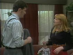 Des Clarke, Melanie Pearson in Neighbours Episode 1114