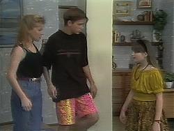 Melissa Jarrett, Todd Landers, Cody Willis in Neighbours Episode 1114