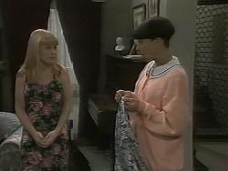 Melissa Jarrett, Hilary Robinson in Neighbours Episode 1115