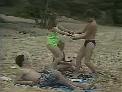 Matt Robinson, Lee Maloney, Sharon Davies, Nick Page in Neighbours Episode 1115