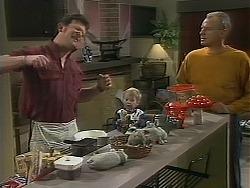 Des Clarke, Jamie Clarke, Jim Robinson in Neighbours Episode 1116