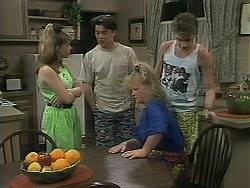 Lee Maloney, Matt Robinson, Sharon Davies, Nick Page in Neighbours Episode 1116