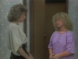 Beverly Robinson, Sharon Davies in Neighbours Episode 1116