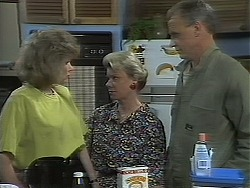 Beverly Marshall, Helen Daniels, Jim Robinson in Neighbours Episode 1117