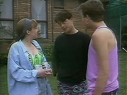 Lee Maloney, Matt Robinson, Nick Page in Neighbours Episode 1117