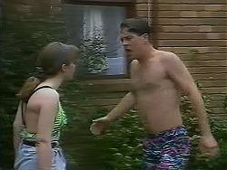 Lee Maloney, Matt Robinson in Neighbours Episode 1118