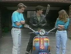 Nick Page, Matt Robinson, Lee Maloney in Neighbours Episode 1118