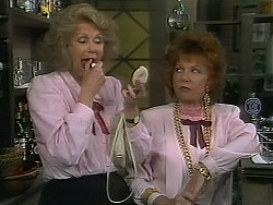 Madge Bishop, Gloria Lewis in Neighbours Episode 1119