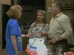 Madge Bishop, Bronwyn Davies, Harold Bishop in Neighbours Episode 1119