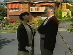 Hilary Robinson, Harold Bishop in Neighbours Episode 1119