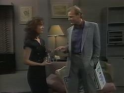 Caroline Alessi, Alan Stewart in Neighbours Episode 1120