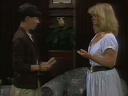 Hilary Robinson, Sharon Davies in Neighbours Episode 1120