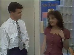 Paul Robinson, Caroline Alessi in Neighbours Episode 1120