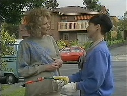 Madge Bishop, Hilary Robinson in Neighbours Episode 1122