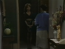 Caroline Alessi, Hilary Robinson in Neighbours Episode 1122