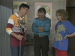 Joe Mangel, Harold Bishop, Madge Bishop in Neighbours Episode 1123