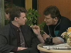 Paul Robinson, Des Clarke in Neighbours Episode 1123