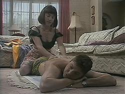Kerry Bishop, Joe Mangel in Neighbours Episode 1124