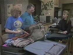 Madge Bishop, Harold Bishop, Bronwyn Davies in Neighbours Episode 1124