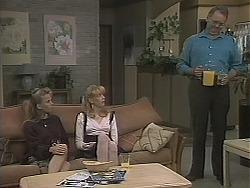 Bronwyn Davies, Melanie Pearson, Harold Bishop in Neighbours Episode 1124