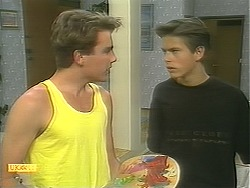Nick Page, Todd Landers in Neighbours Episode 1125