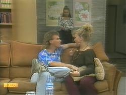 Rick, Bronwyn Davies, Sharon Davies in Neighbours Episode 1125