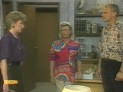 Beverly Marshall, Helen Daniels, Jim Robinson in Neighbours Episode 1125