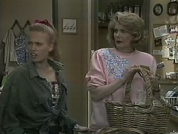 Bronwyn Davies, Madge Bishop in Neighbours Episode 1126