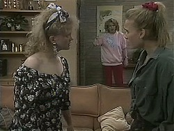 Sharon Davies, Madge Bishop, Bronwyn Davies in Neighbours Episode 1126