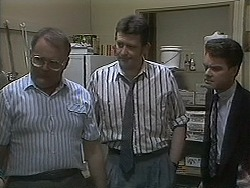 Harold Bishop, Des Clarke, Paul Robinson in Neighbours Episode 1126