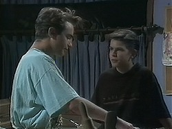 Nick Page, Todd Landers in Neighbours Episode 1127