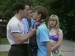 Matt Robinson, Nick Page, Todd Landers, Melissa Jarrett in Neighbours Episode 1127