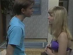 Todd Landers, Melissa Jarrett in Neighbours Episode 1128