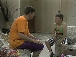 Joe Mangel, Toby Mangel in Neighbours Episode 1128