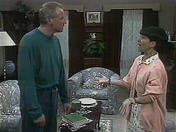 Jim Robinson, Hilary Robinson in Neighbours Episode 1128