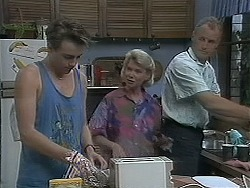Nick Page, Helen Daniels, Jim Robinson in Neighbours Episode 1128