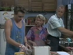 Nick Page, Helen Daniels, Jim Robinson in Neighbours Episode 1128