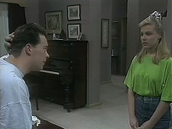 Matt Robinson, Melissa Jarrett in Neighbours Episode 1128
