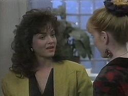 Caroline Alessi, Melanie Pearson in Neighbours Episode 1129