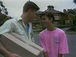 Joe Mangel, Todd Landers in Neighbours Episode 1129