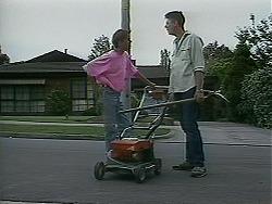 Todd Landers, Joe Mangel in Neighbours Episode 1129