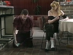 Des Clarke, Melanie Pearson in Neighbours Episode 1131
