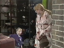 Jamie Clarke, Melanie Pearson in Neighbours Episode 1131