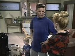 Jamie Clarke, Joe Mangel, Melanie Pearson in Neighbours Episode 1132