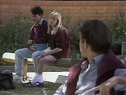 Josh Anderson, Melissa Jarrett, Todd Landers in Neighbours Episode 1132