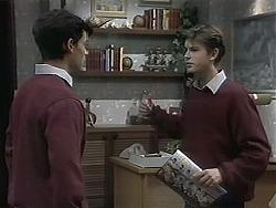 Josh Anderson, Todd Landers in Neighbours Episode 1132